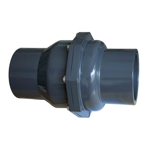PVC SWING CHECK VALVE - Socket x EPDM