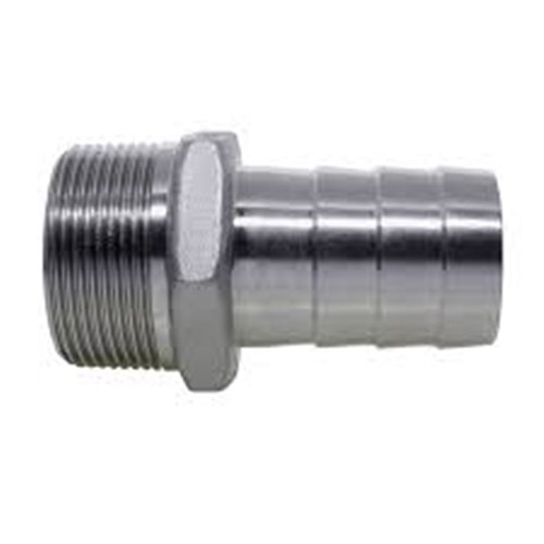 316 STAINLESS STEEL HOSETAIL - NPT male